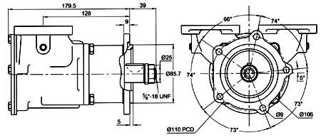 Jabsco Water Pump Impeller Jabsco Impellers Neoprene