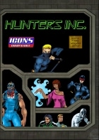 Cover art for the new Hunters' Inc. sourcebook