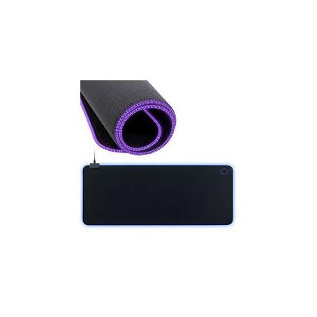 tapis de souris gaming cooler master mp750 xl rgb