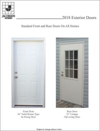 Manufactured Doors & Door