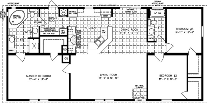 Three Bedroom Mobile Homes L 3 Floor Plans. 3 Bedroom 1 Bath Mobile Home Floor Plan   Bedroom Style Ideas