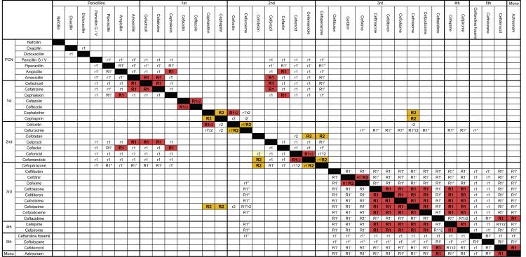 Crossreactivity in Lactam Allergy  The Journal of