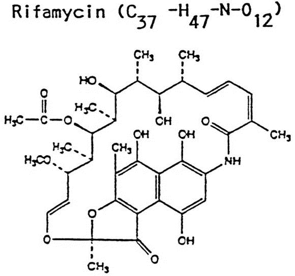 Anaphylactic reaction to local administration of rifamycin
