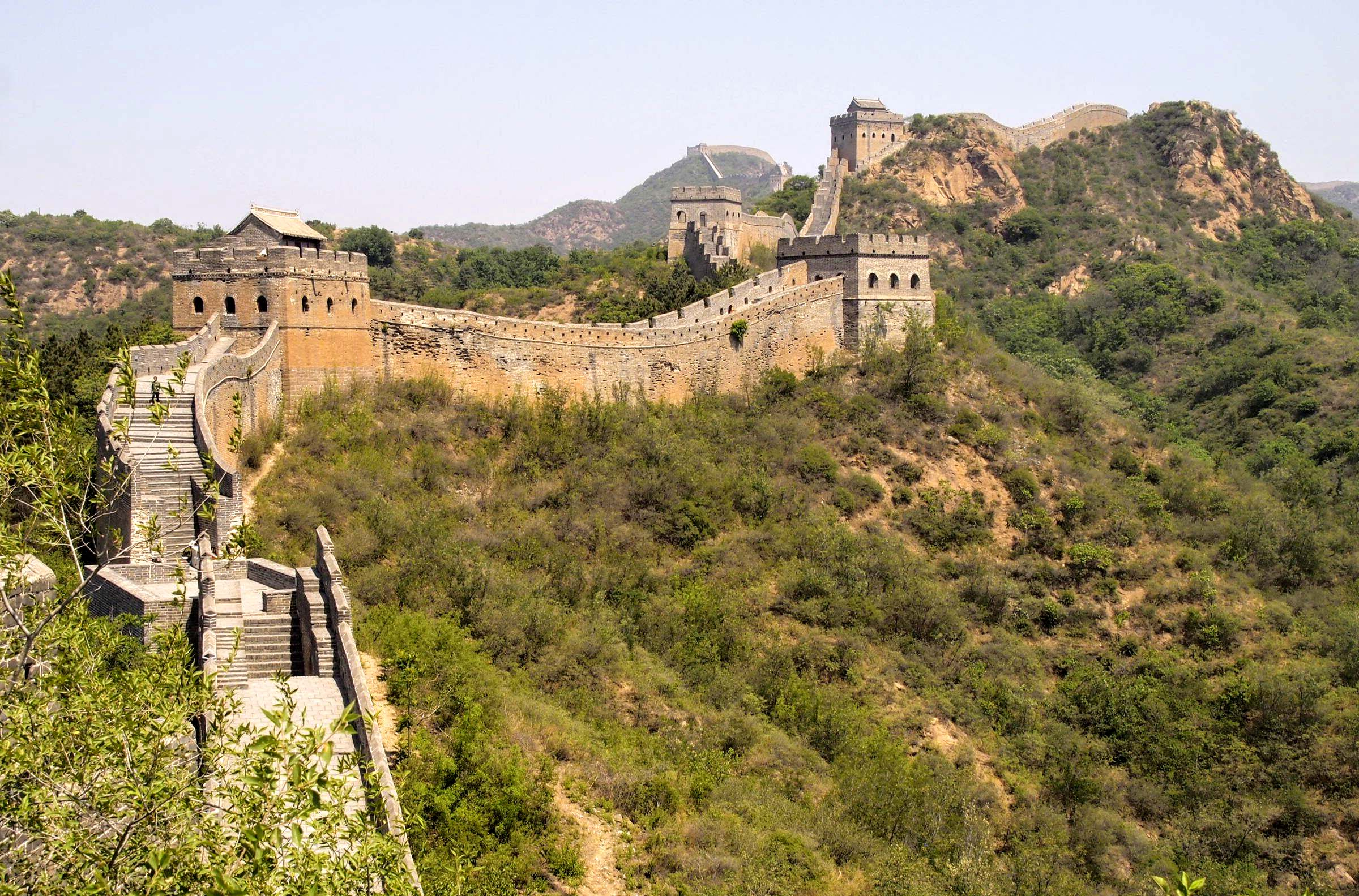A Childhood Bucket List Hiking The Great Wall Of China