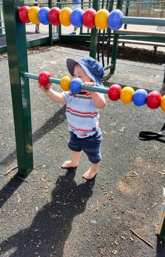 Playing with the balls