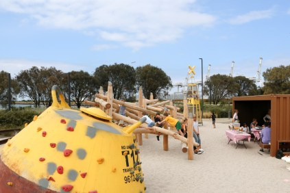 Webb Dock Playground, Port Melbourne-6