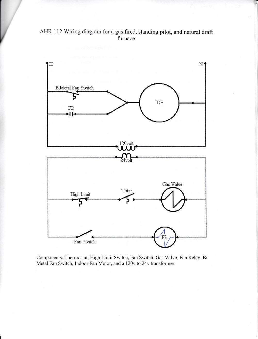 medium resolution of home test intertherm gas furnace wiring diagram at gas furnace weather king wiring diagram