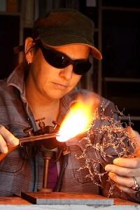 Jacky Geurtsd Glass artist Studio Jackaroo