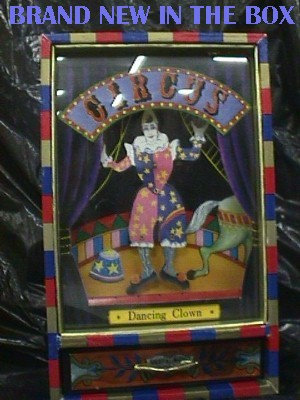 Beautiful Dancing Clown Jewel Music Box Jack Berg Sales