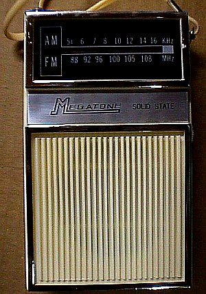 Megatone TC 903 AMFM Solid State Pocket Radio Jack Berg