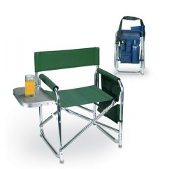 Picnic Time Sports Chair Pediatric Shower Camping Furniture Navy