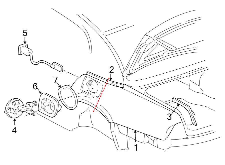 Buick Park Avenue Fuel Filler Door Lock Actuator