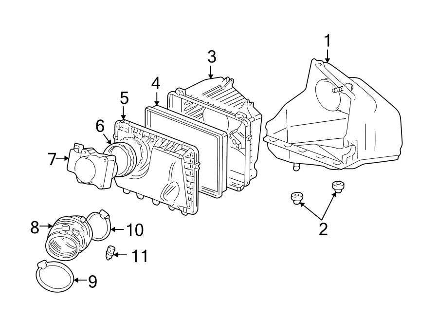 Buick Century Air Filter Housing. LITER, Supercharger