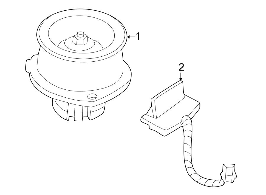 Buick Rendezvous Hvac blower motor resistor. Heater, air