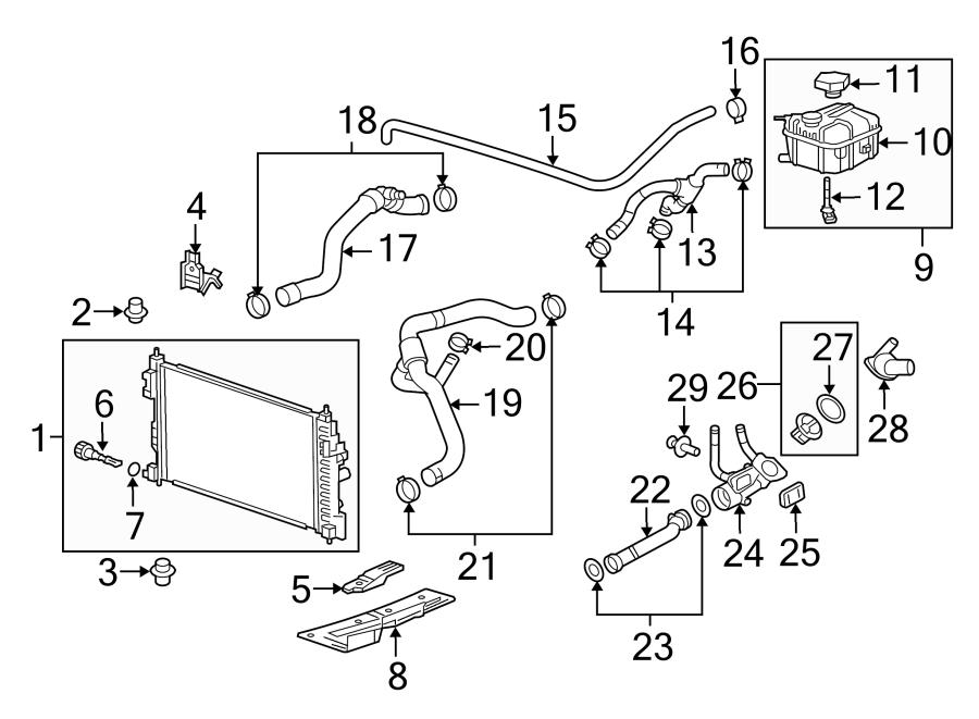 Buick Regal Engine Coolant Temperature Sensor. LITER