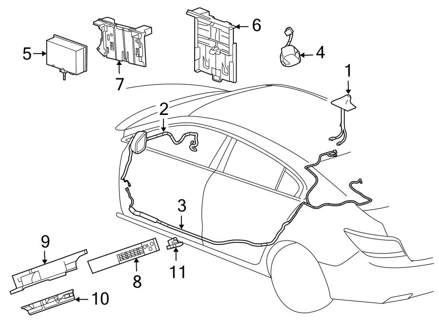 Buick Regal Control. MODULE. Radio Unit with GPS