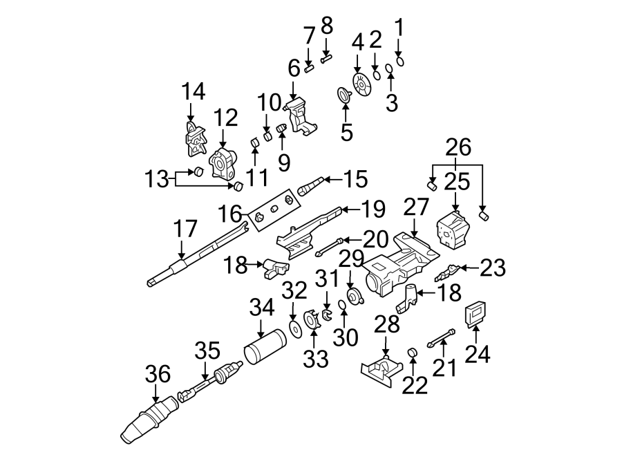 Cadillac Deville Steering Column Cover (Lower). DEVILLE
