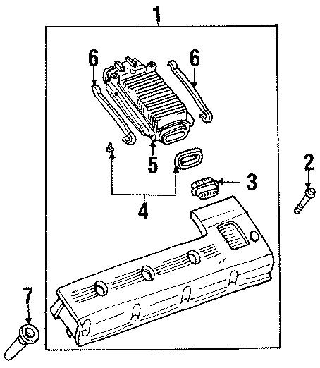 Cadillac Eldorado Ignition Coil Bolt (Lower). 2000-03. 4.0