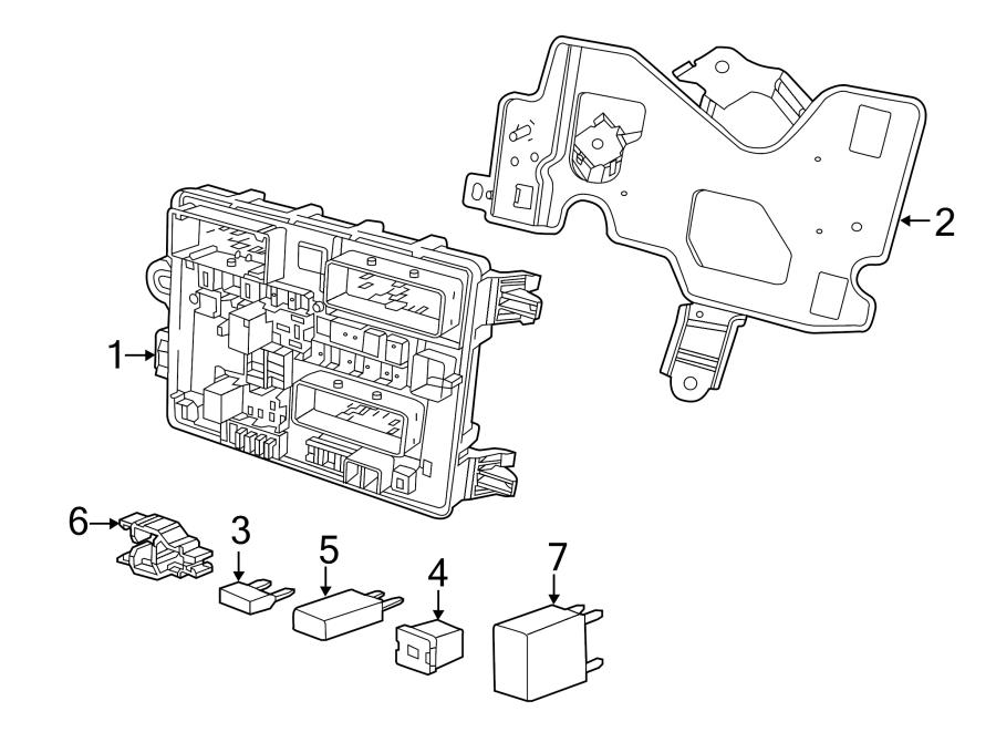 Chevrolet Caprice Circuit Breaker. BODY. BODY COMPARTMENT