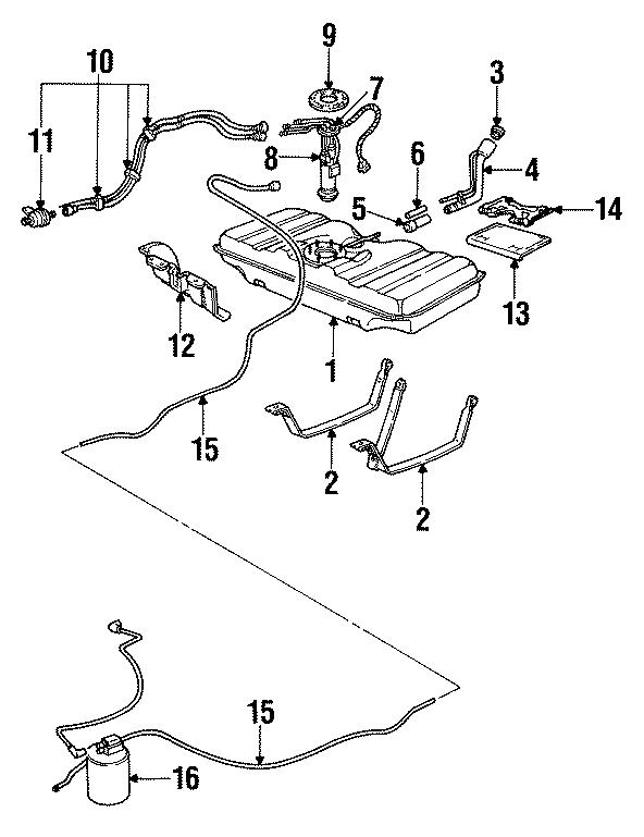 Chevrolet Caprice Fuel Tank Sending Unit. Fuel Tank