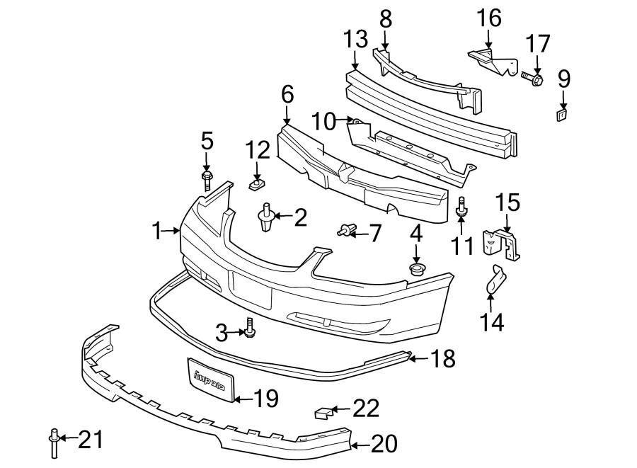 Chevrolet Impala License Plate Frame. W/IMPALA SS. BUMPER