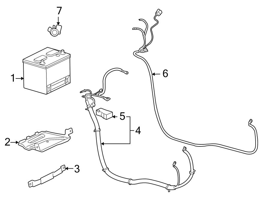Chevrolet Impala Battery Terminal Cover. 5.3 LITER