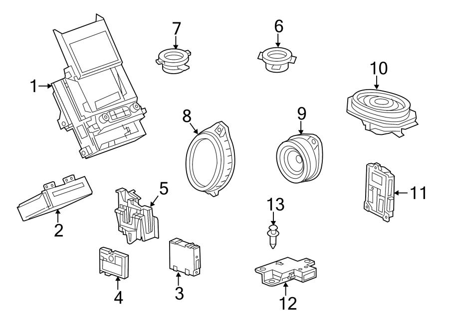 Chevrolet Impala Radio Module Interface. Impala; w/8 Inch