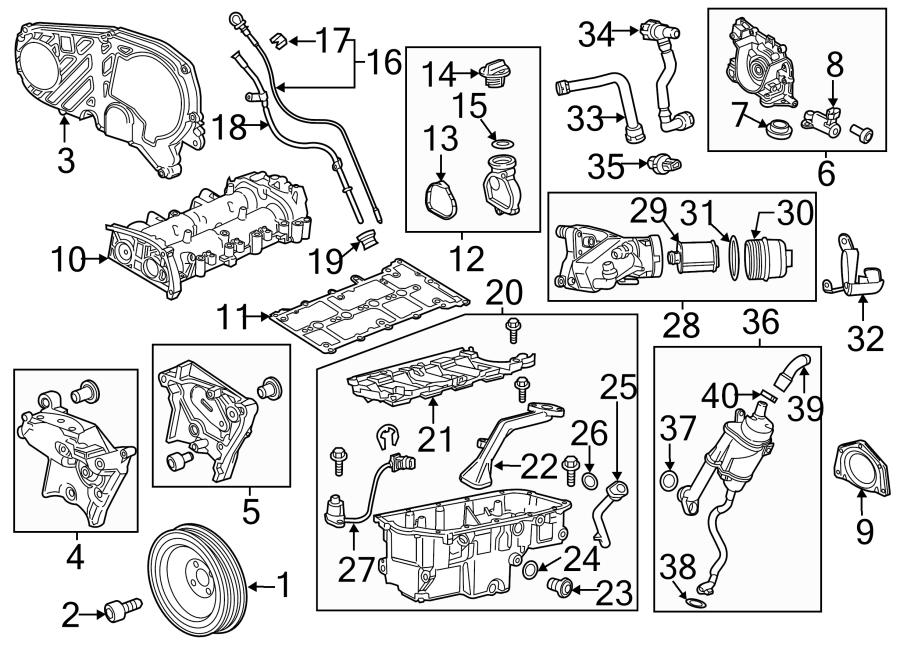 Chevrolet Cruze Engine Oil Drain Plug Gasket. 2.0 LITER