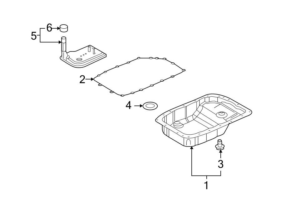 Chevrolet Camaro Transmission Filter. 3.6 liter. Camaro; 3