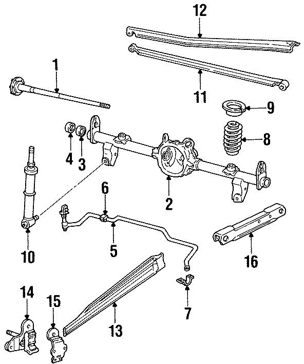 Chevrolet Camaro Suspension Stabilizer Bar Bracket (Rear
