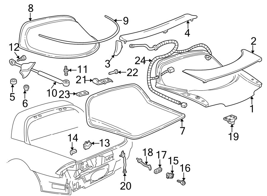Chevrolet Camaro Lock. Cylinder. FireBIRD & FormULA. TRANS