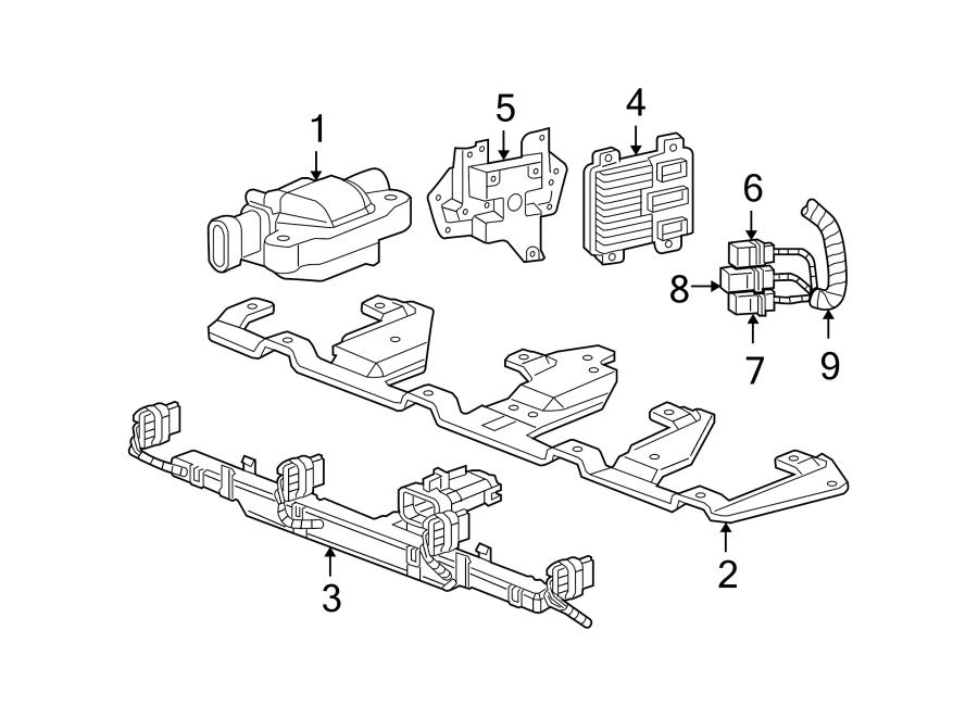 Chevrolet Corvette Engine Wiring Harness. 6.0 & 7.0 LITER