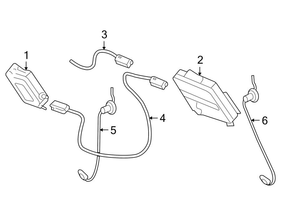 Chevrolet Corvette Radio Antenna Module Connector