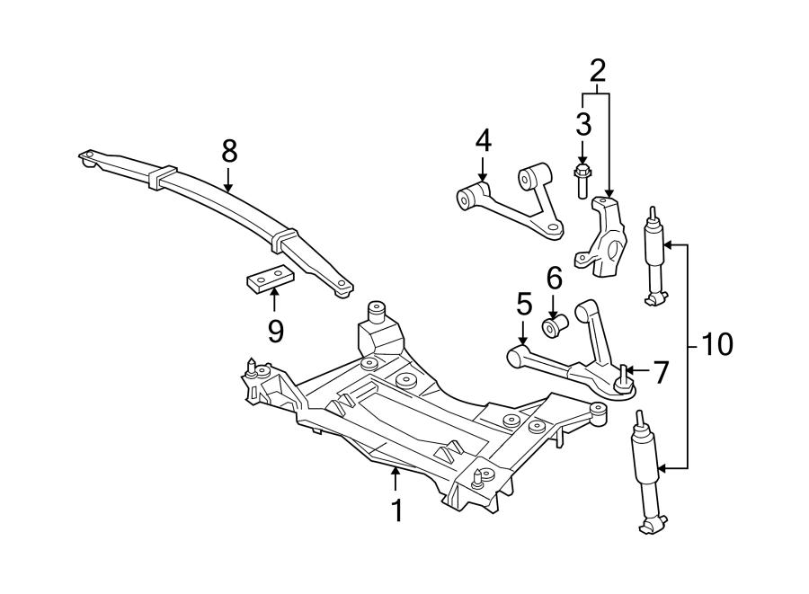 Chevrolet Corvette Leaf Spring. Suspension, Make, FRONT