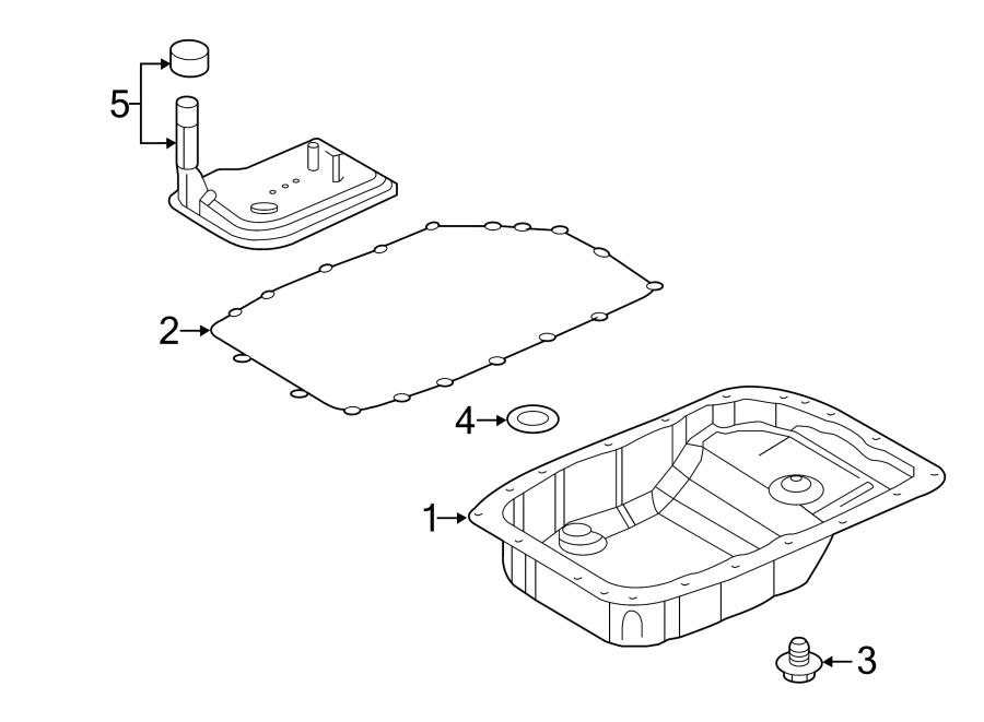 Chevrolet Corvette Automatic Transmission Oil Pan