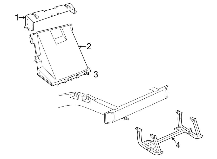 Chevrolet Corvette Radiator Support Panel (Lower). Support