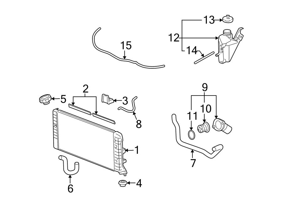 Chevrolet Monte Carlo Engine Coolant Thermostat Kit. 5.3