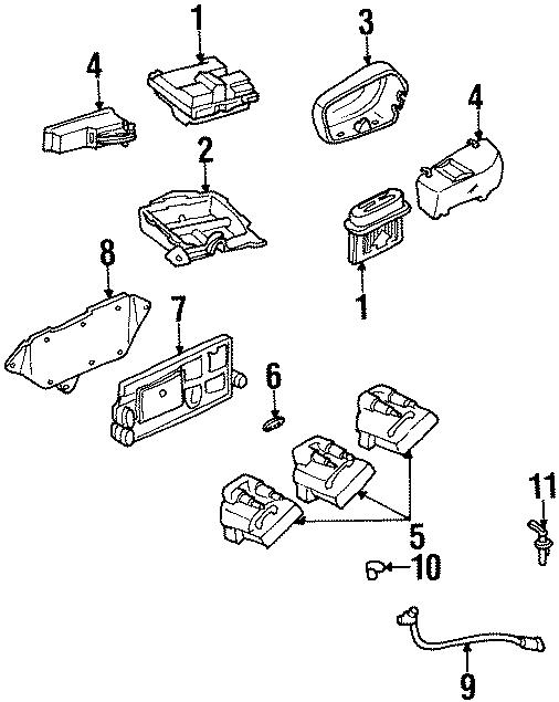 Chevrolet Monte Carlo Engine Crankshaft Position Sensor