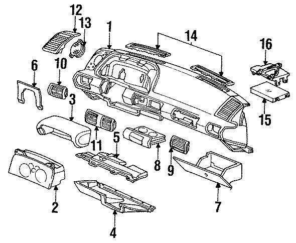 Chevrolet Cavalier Control module. Controller. Ecm