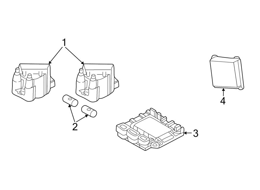 GMC S15 Ignition Control Module. MODULE ASSEMBLY, ELEK