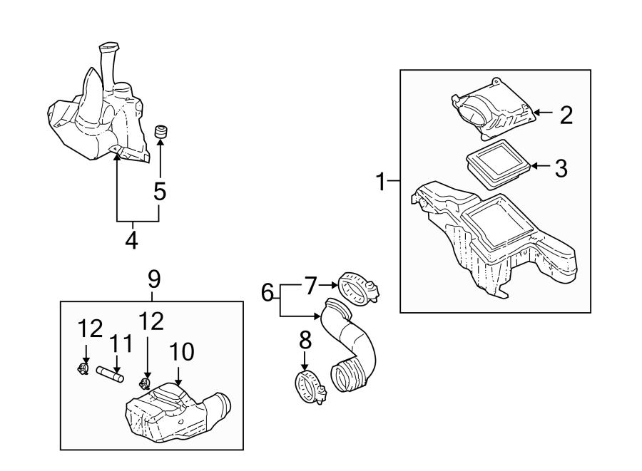 Chevrolet Cavalier Pcv valve hose. 2.2 liter, w/dohc
