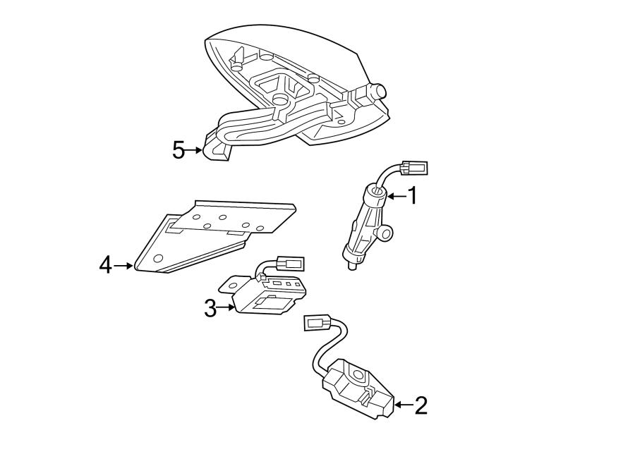 Chevrolet Malibu Audio Amplifier Wiring Harness. Coil