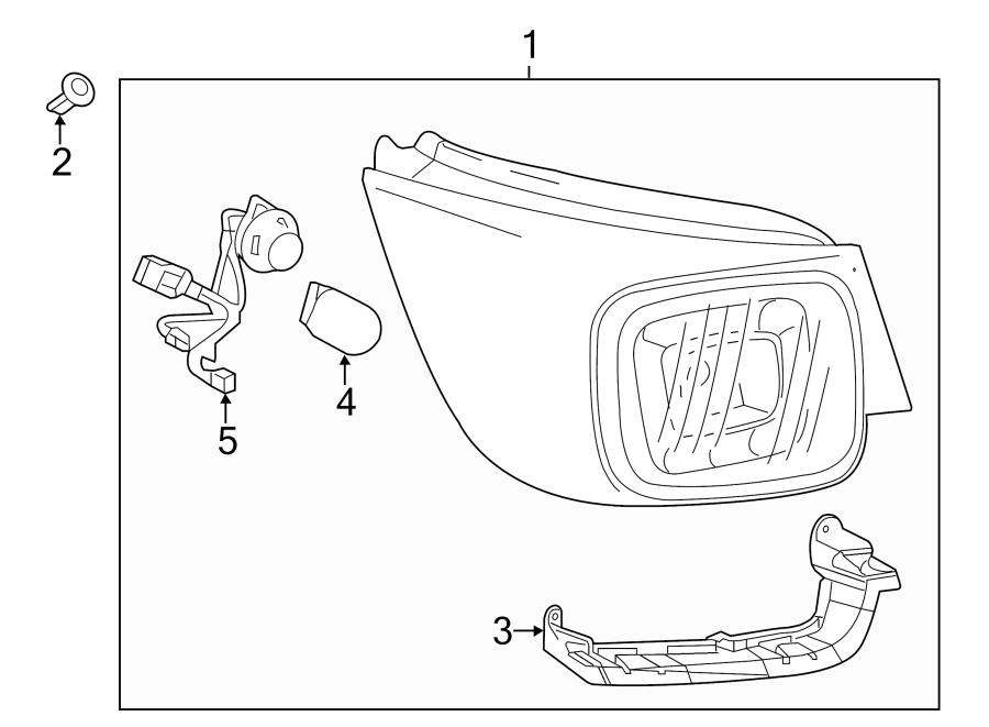 Chevrolet Malibu Limited Tail Light Socket. W/LED. LAMPS