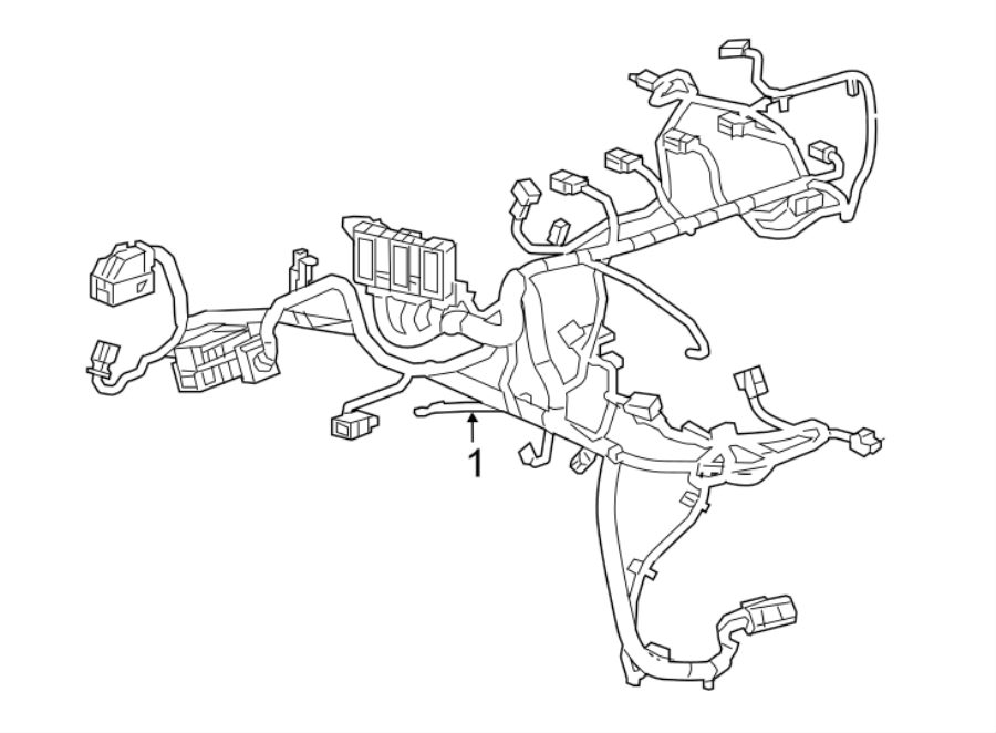 Chevrolet Malibu Engine Wiring Harness. 2.0L turbo