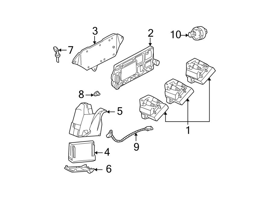Pontiac Grand Am Engine Camshaft Position Sensor. Sensor