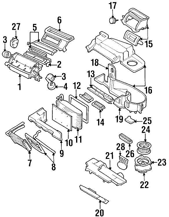 Chevrolet Lumina Hvac blower motor resistor. Heater, air