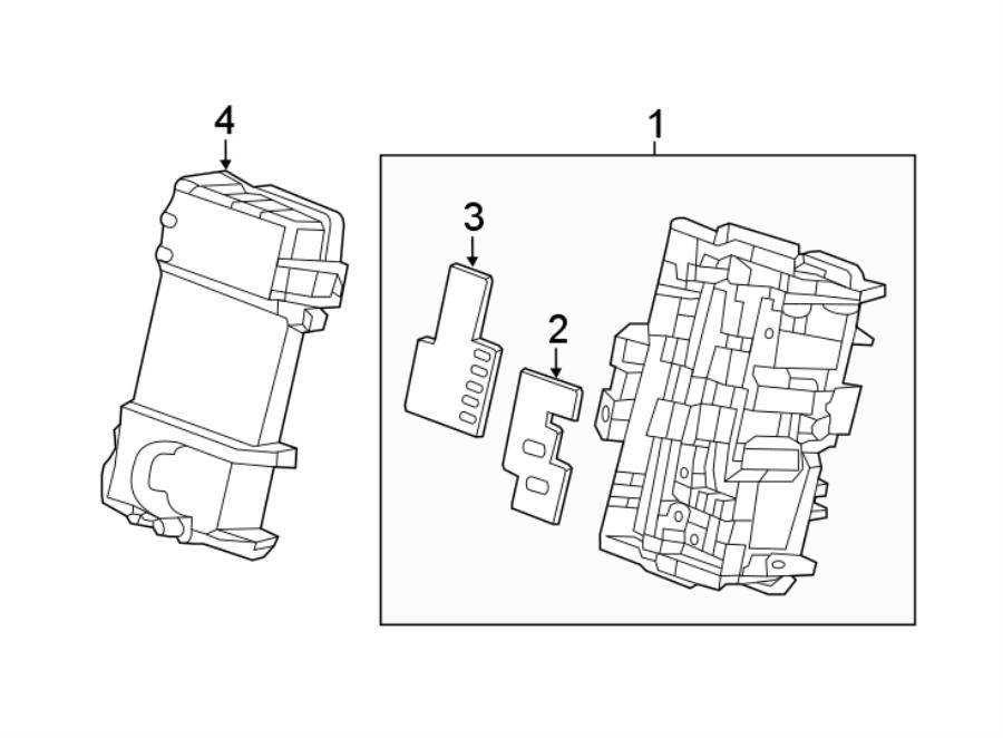 Chevrolet Volt Fuse Box Clip. PASSENGER COMPARTMENT, type