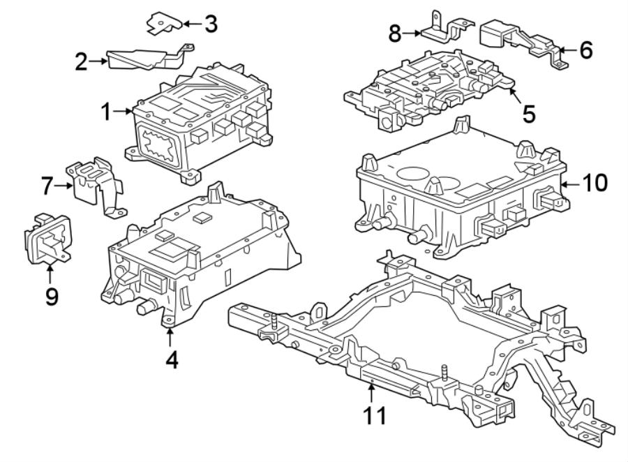 Chevrolet Bolt EV Wiring Harness Connector. INVERTER