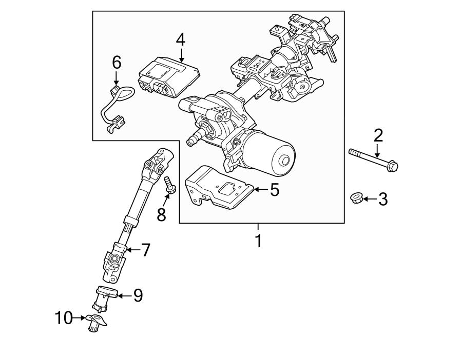 Chevrolet Spark Steering Column Wiring Harness. Suspension
