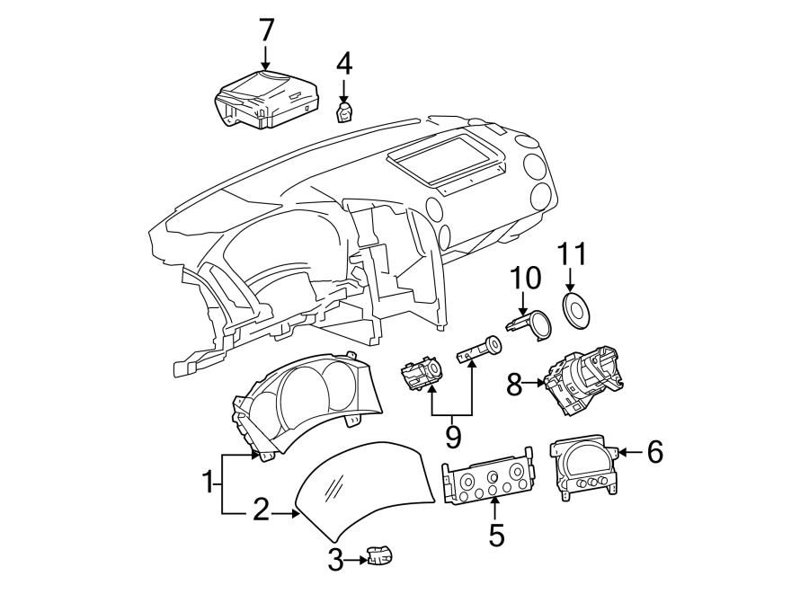 Pontiac Grand Prix Headlight Dimmer Switch. Headlight